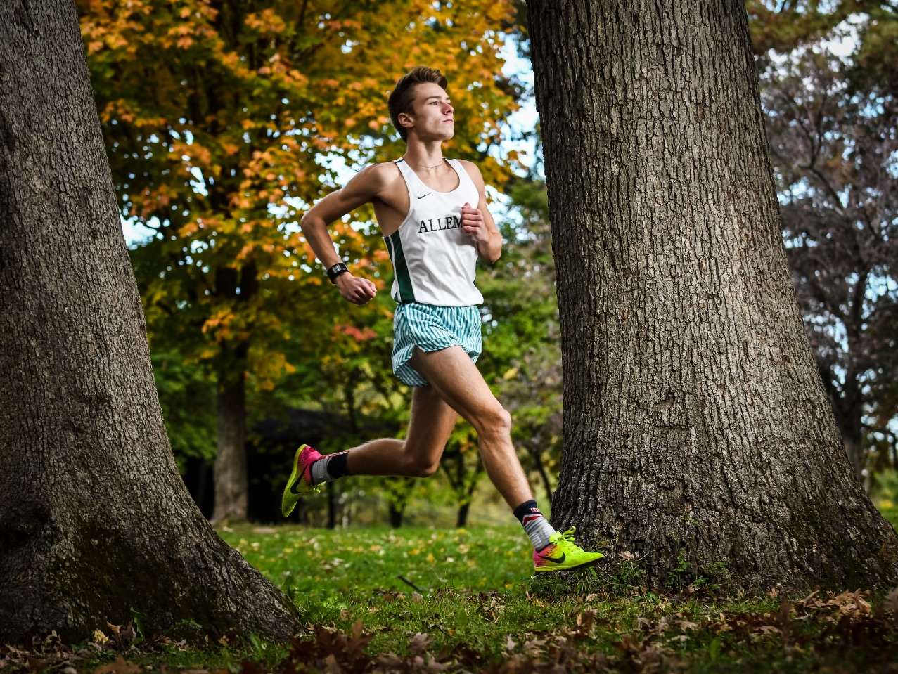 Alleman boys' cross country standout Spencer Smith. (Todd Mizener - Dispatch/Argus)