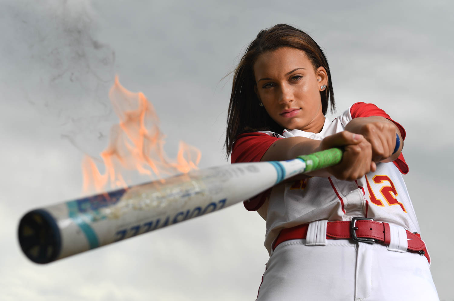 Rock Island's Lauryn Stegall is this week's Dispatch-Argus-QCOnline Pacesetter. She is on fire at the plate hitting better than .450 and leading the team in home runs. She hit a go-ahead two-run home run in Monday's 3-0 win over Minooka in the Normal (ISU) Super-Sectional.  (Todd Mizener - Dispatch/Argus)