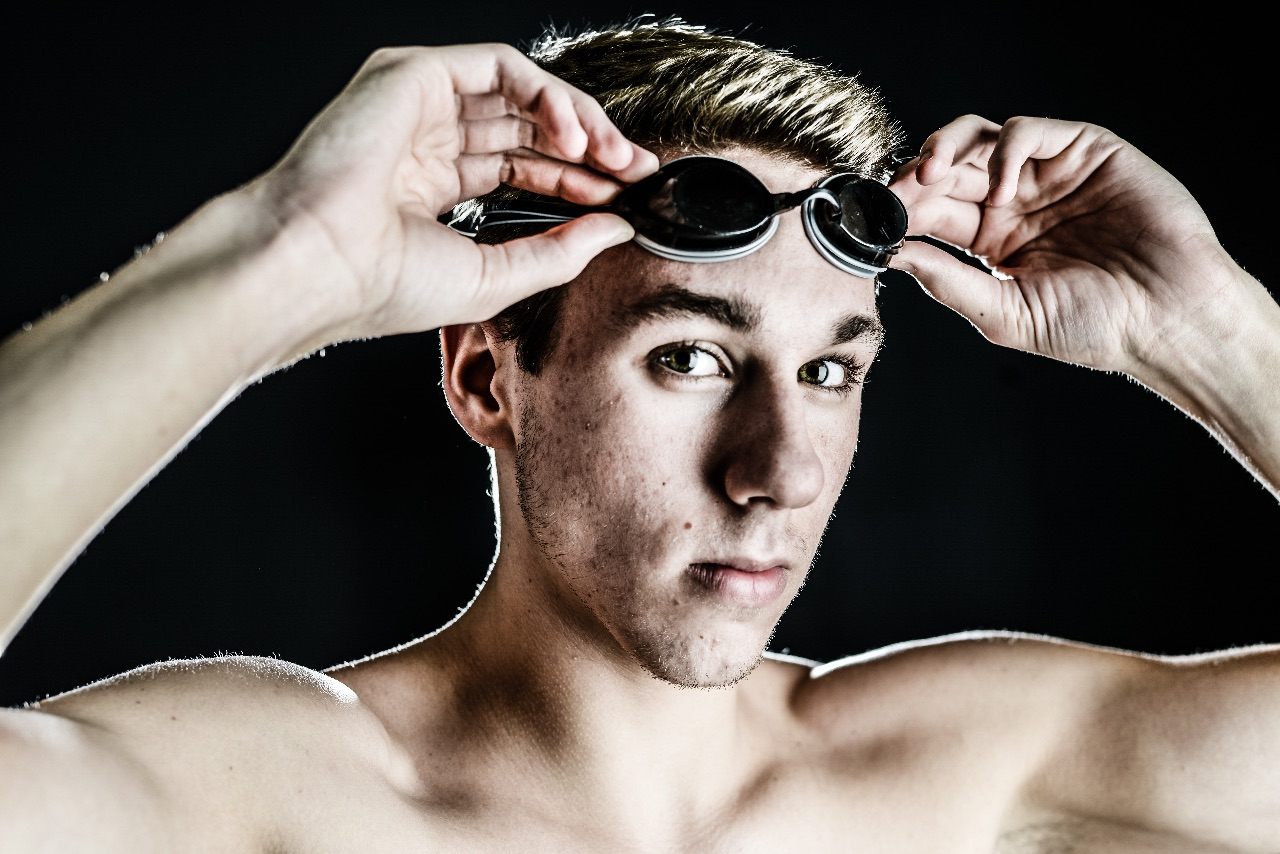 Moline senior Alec Michna is the Dispatch/Argus 2015 Swimmer of the Year. (Todd Mizener - Dispatch/Argus)