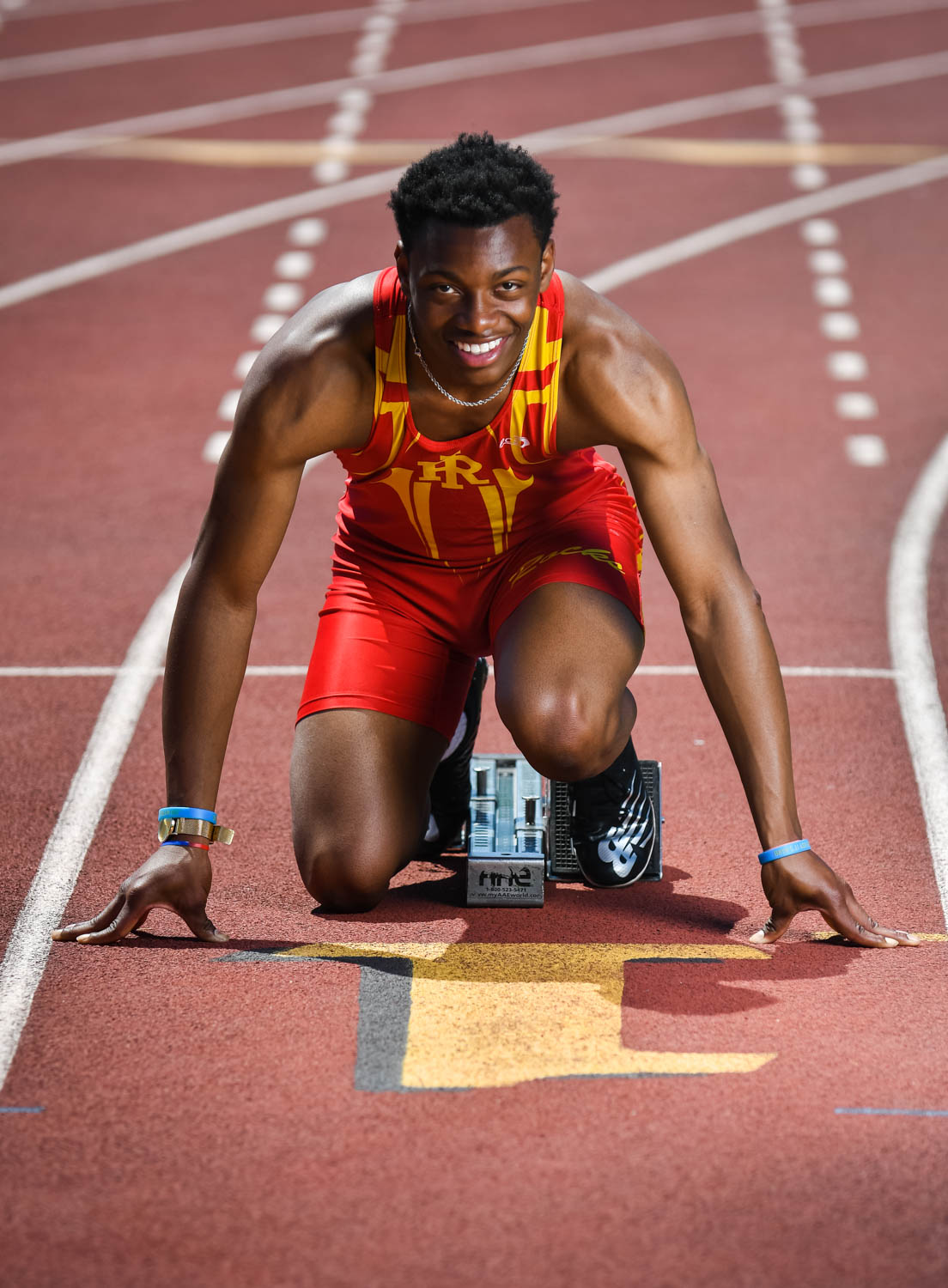 Rock Island track star Courtney Lindsey. (Todd Mizener - Dispatch/Argus)